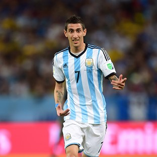 Angel di Maria was in inspirational form against Germany