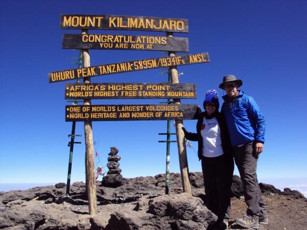 School teacher climbs Mount Kilimanjaro for dementia research