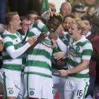 Chard & Ilminster News: Dedryck Boyata, centre, netted a late header for Celtic