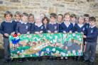 Hinton St George pupils win art prize