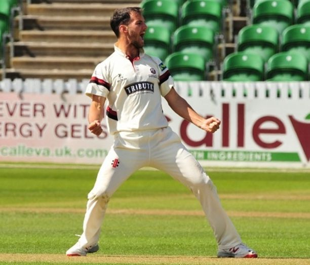 SPECULATION: Lewis Gregory was surprised to hear of reports linking him with a move away from Somerset.