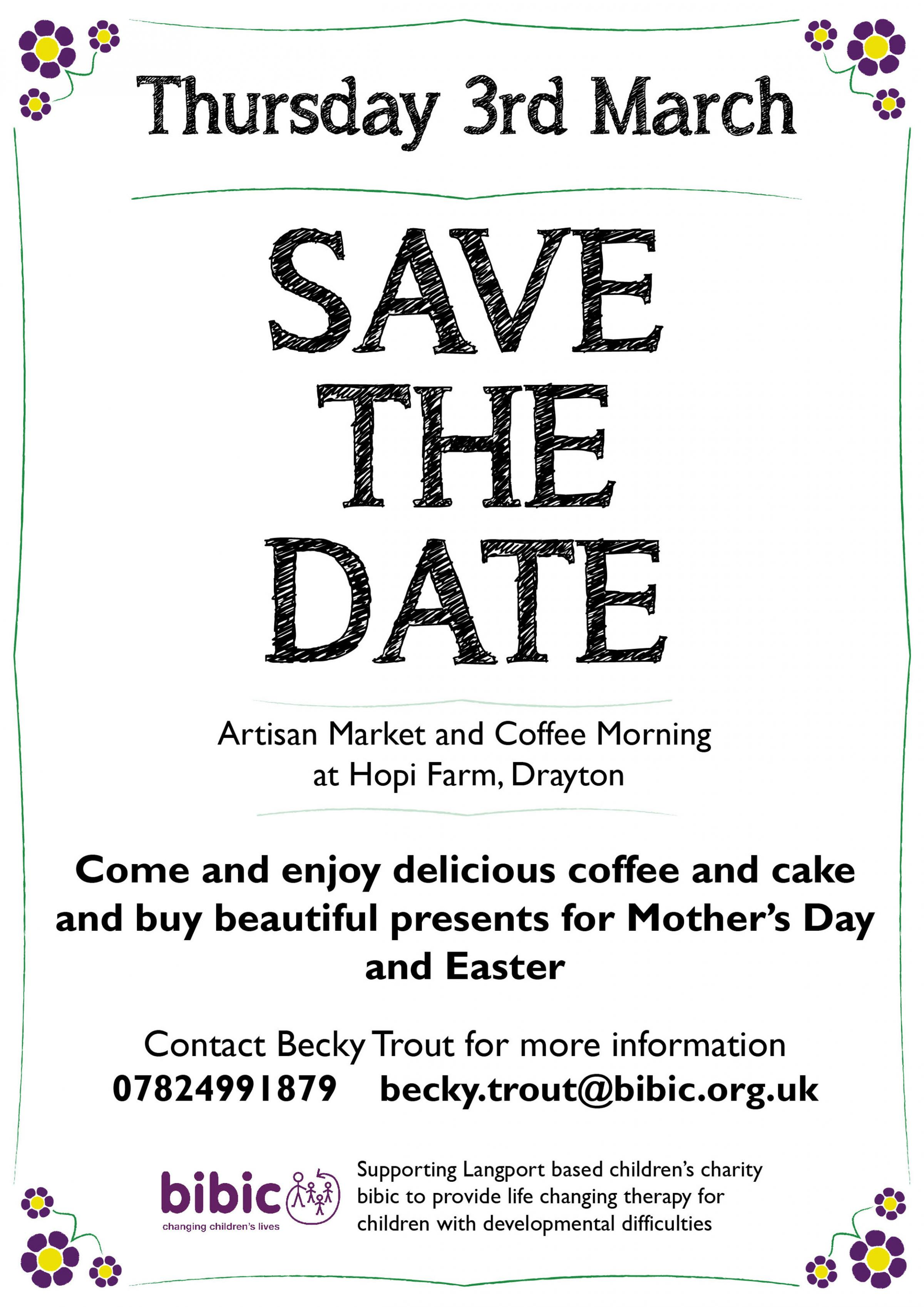 Artisan Market and Coffee Morning