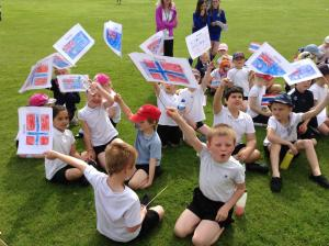 Chard & Ilminster News: PICTURES: Olympic fun at Greenfylde