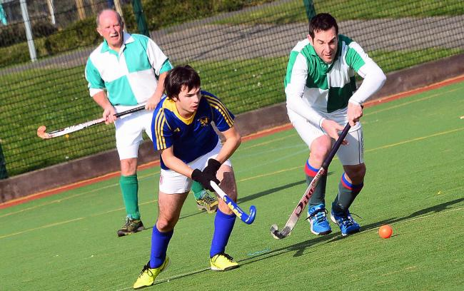 HARD WEEK: Chard men's 1sts grabbed a draw, but the A and B sides both conceded 10. Pic: Steve Richardson