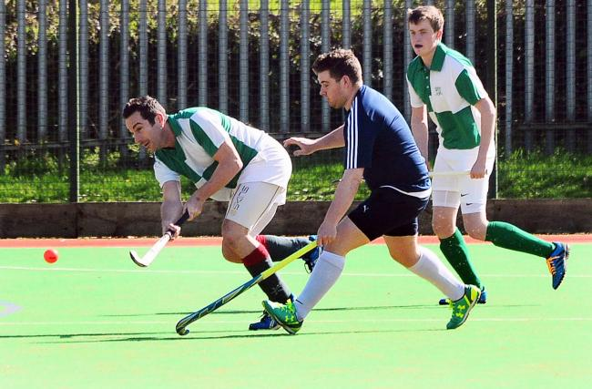 CHALLENGE: It was a mixed week for Chard Hockey Club's men's teams. Pic: Steve Richardson