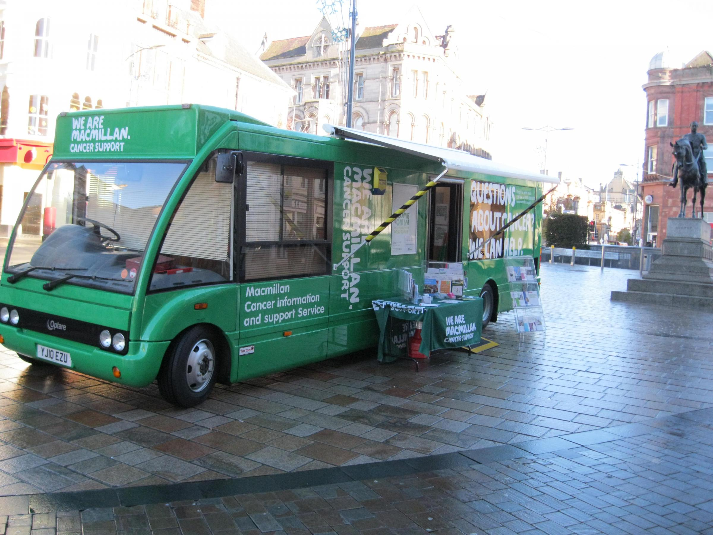Macmillan Cancer Support Information Service in Weston super Mare