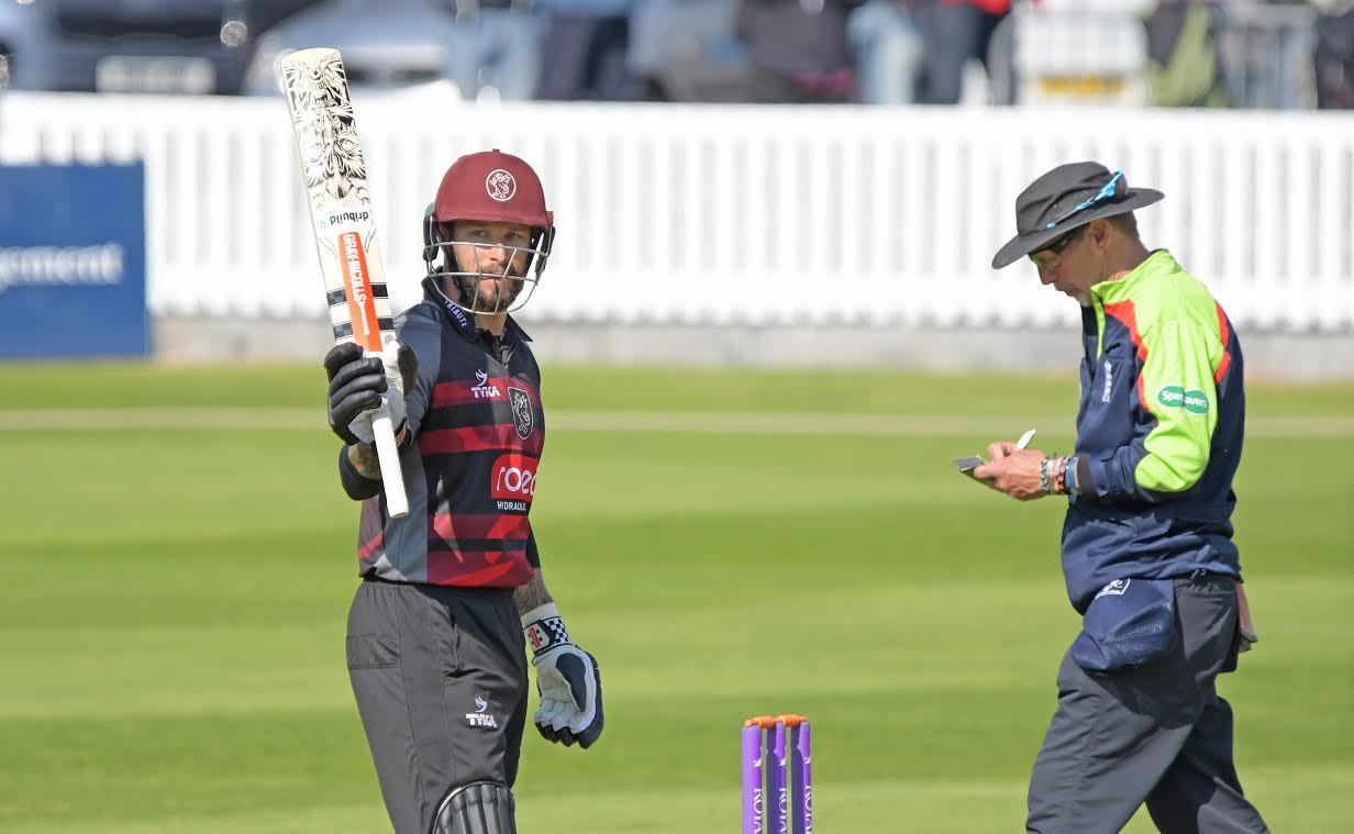 STALWART: Somerset's Peter Trego is part of the squad to face Dorset at North Perrott CC on Tuesday.