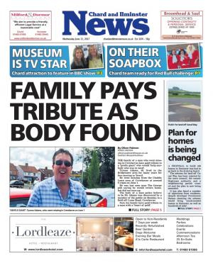 Chard & Ilminster News: Family pays tribute to man with 'heart of gold'