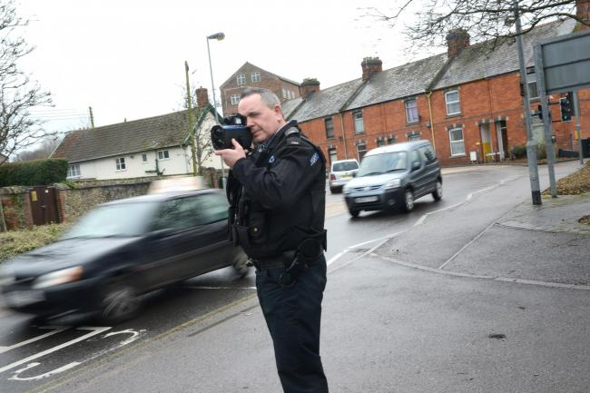 NO EXCUSES: No-one wants a speeding fine through the letter box
