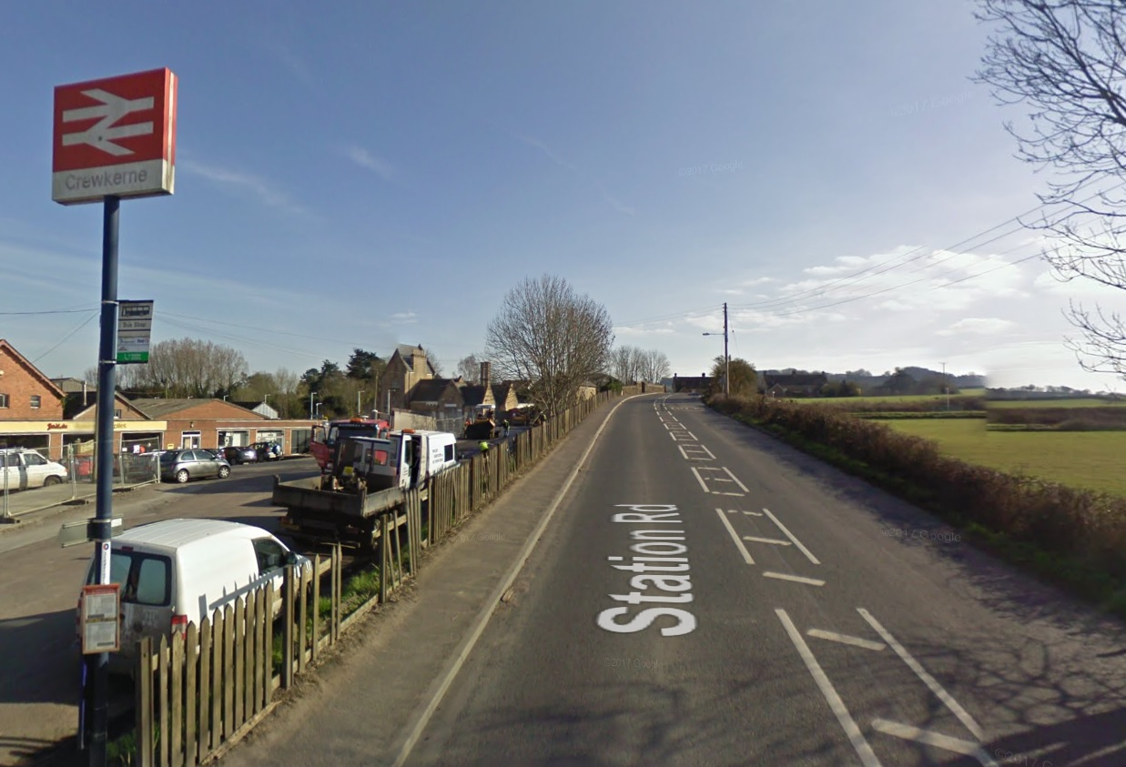 Man, 56, killed after being by train at Crewkerne Station