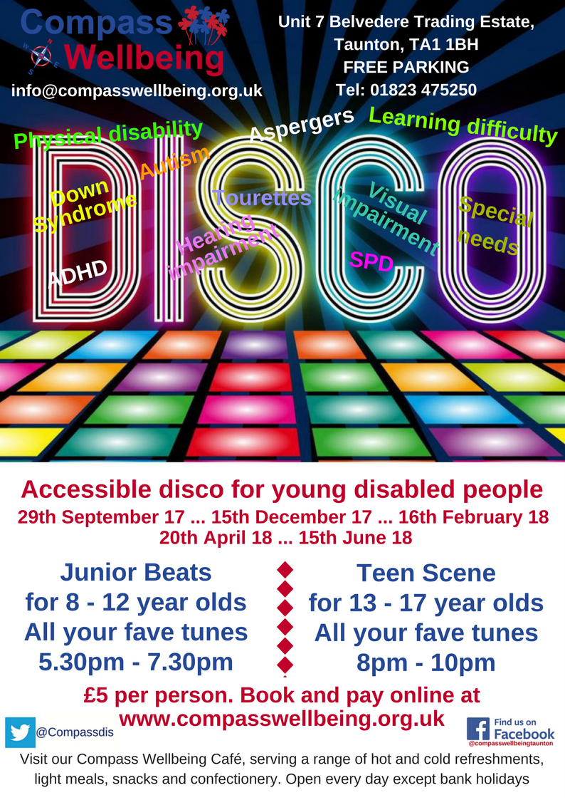 Junior Beats Disco for 8-12 year olds