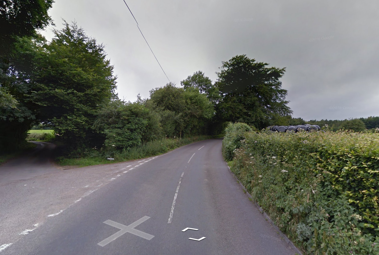 CRASH: Staple Hill is closed in both directions after a crash in Buckland St Mary. Image - Google