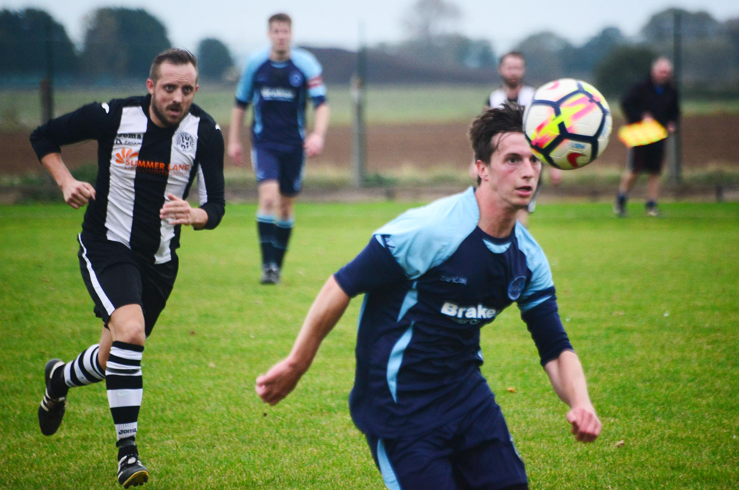 REVERSE FIXTURE: Ilminster in action against Middlezoy Rovers - the two sides face each other again tomorrow.