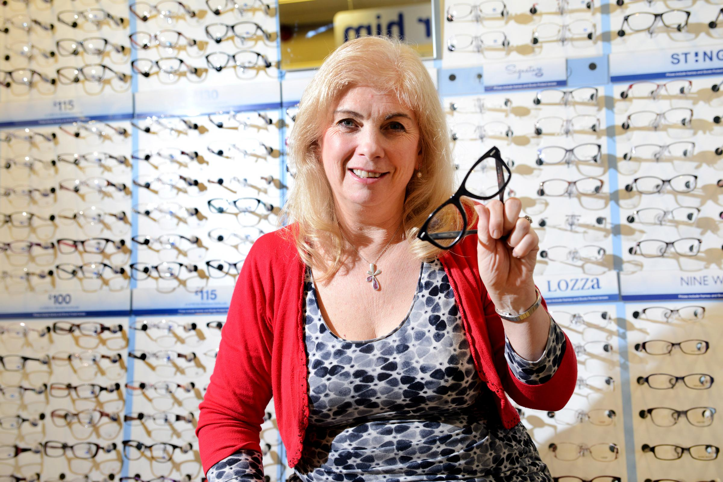 Cathy Barnett is 'determined' to keep a Chard opticians open after Boots announced it would be closing the store