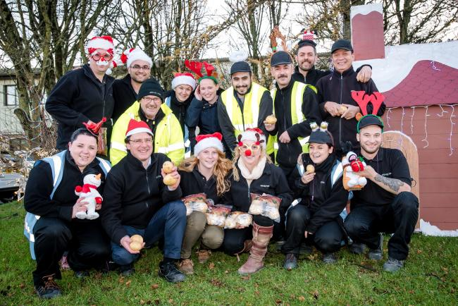 DEMAND for potatoes in the build up to Christmas will send an Ilminster factory into overdrive this festive season.