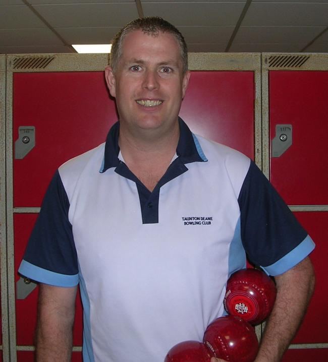 CONTENDER: Ilminster bowler Rob Paxton.