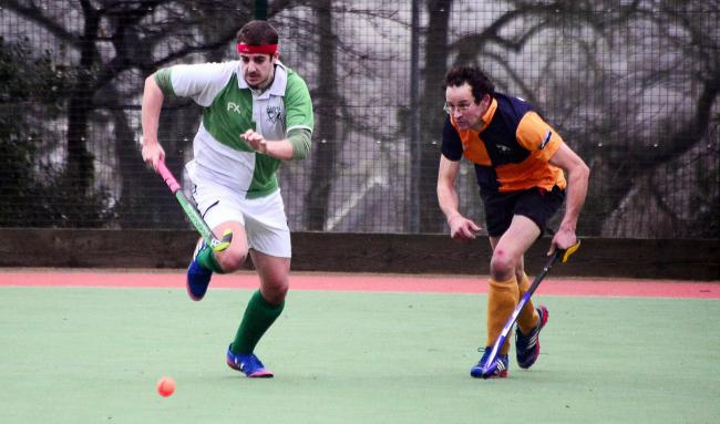 HOME WIN: Chard A's Kyle Wheaton (green kit) in action against West Dorset A. Pic: Steve Richardson