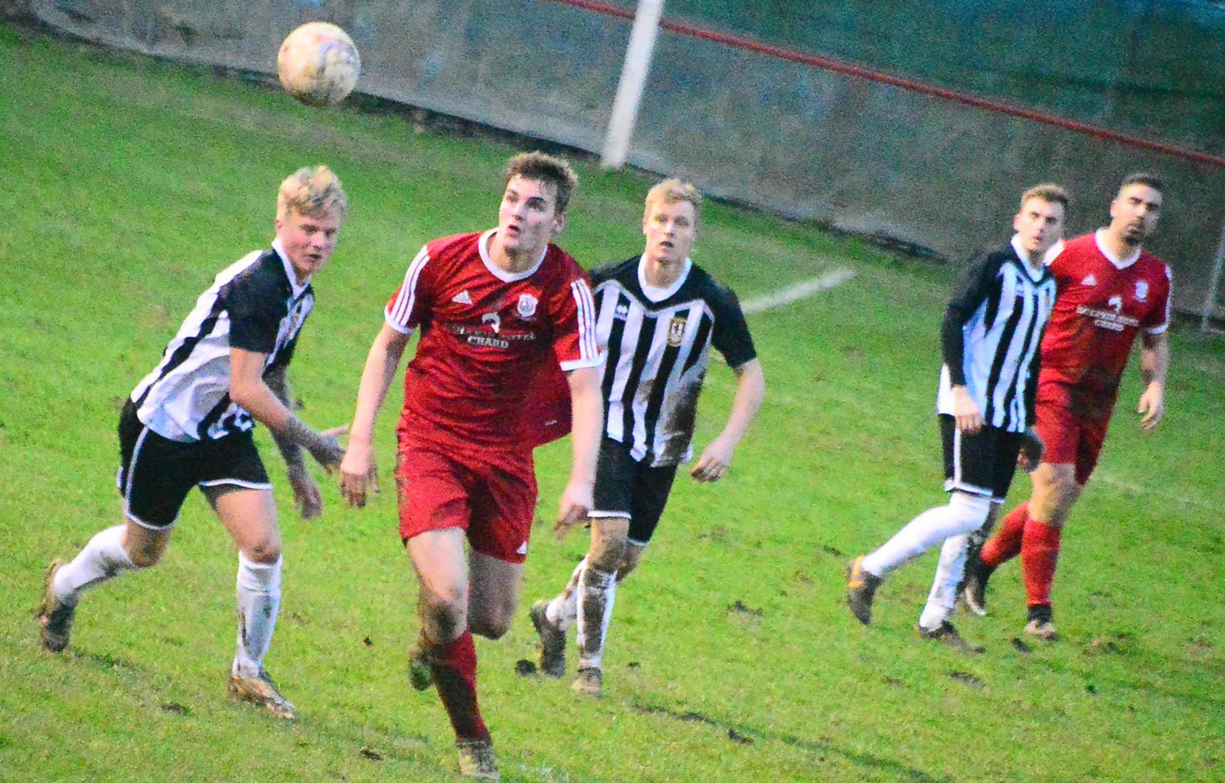 RETURN: Chard Town are aiming to get back to league action this weekend