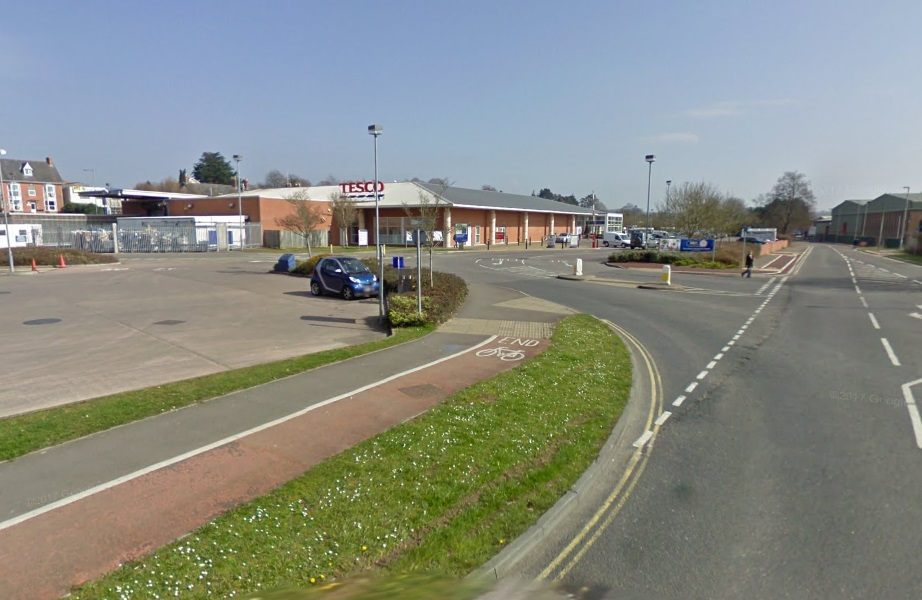 Tesco on Tapstone Road in Chard