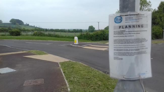 RECOMMENDED FOR REFUSAL: Plans for 144 homes on Canal Way have been recommended for refusal by Ilminster Parish Council