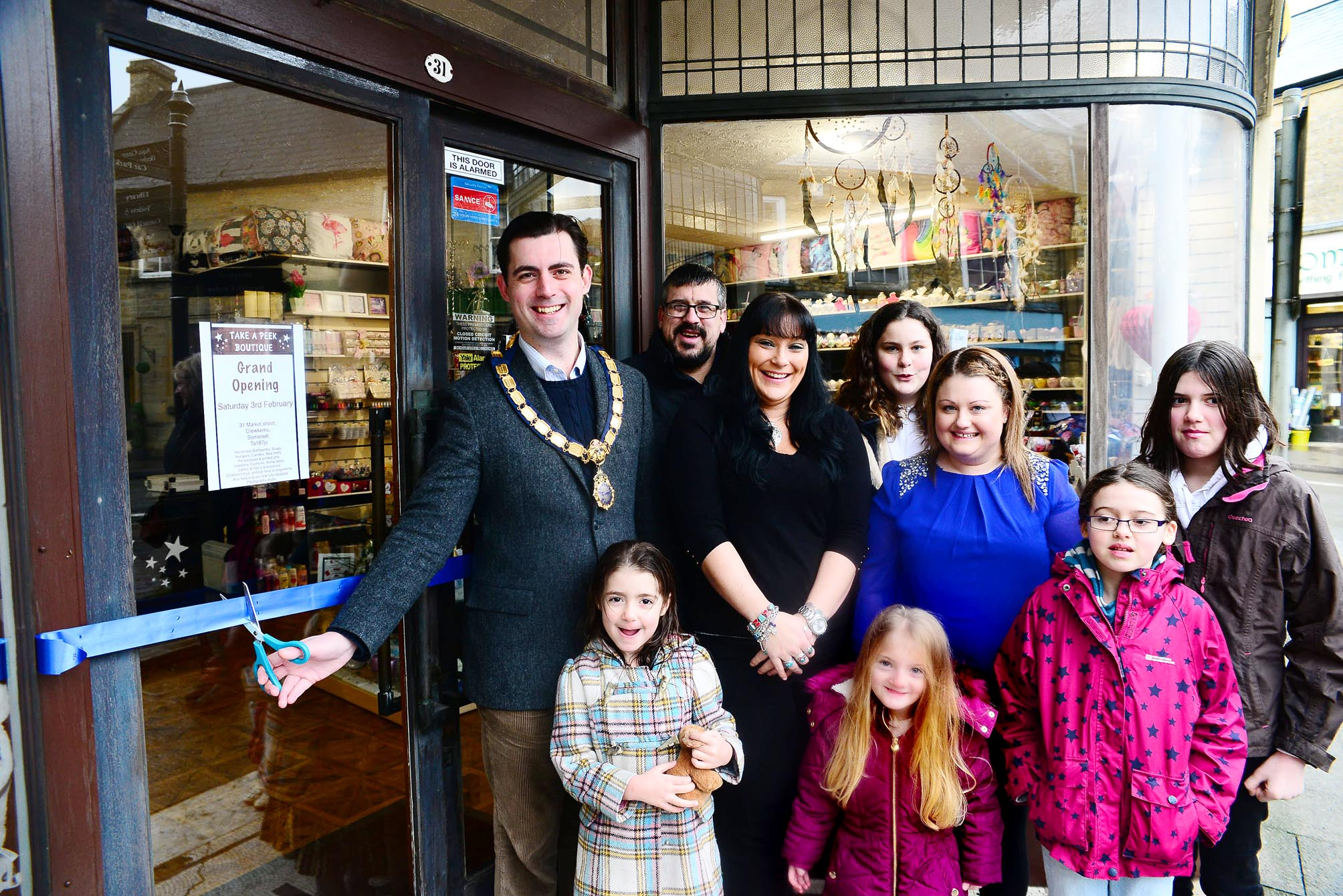 Crewkerne couple launch boutique business in the town's 'main attraction'