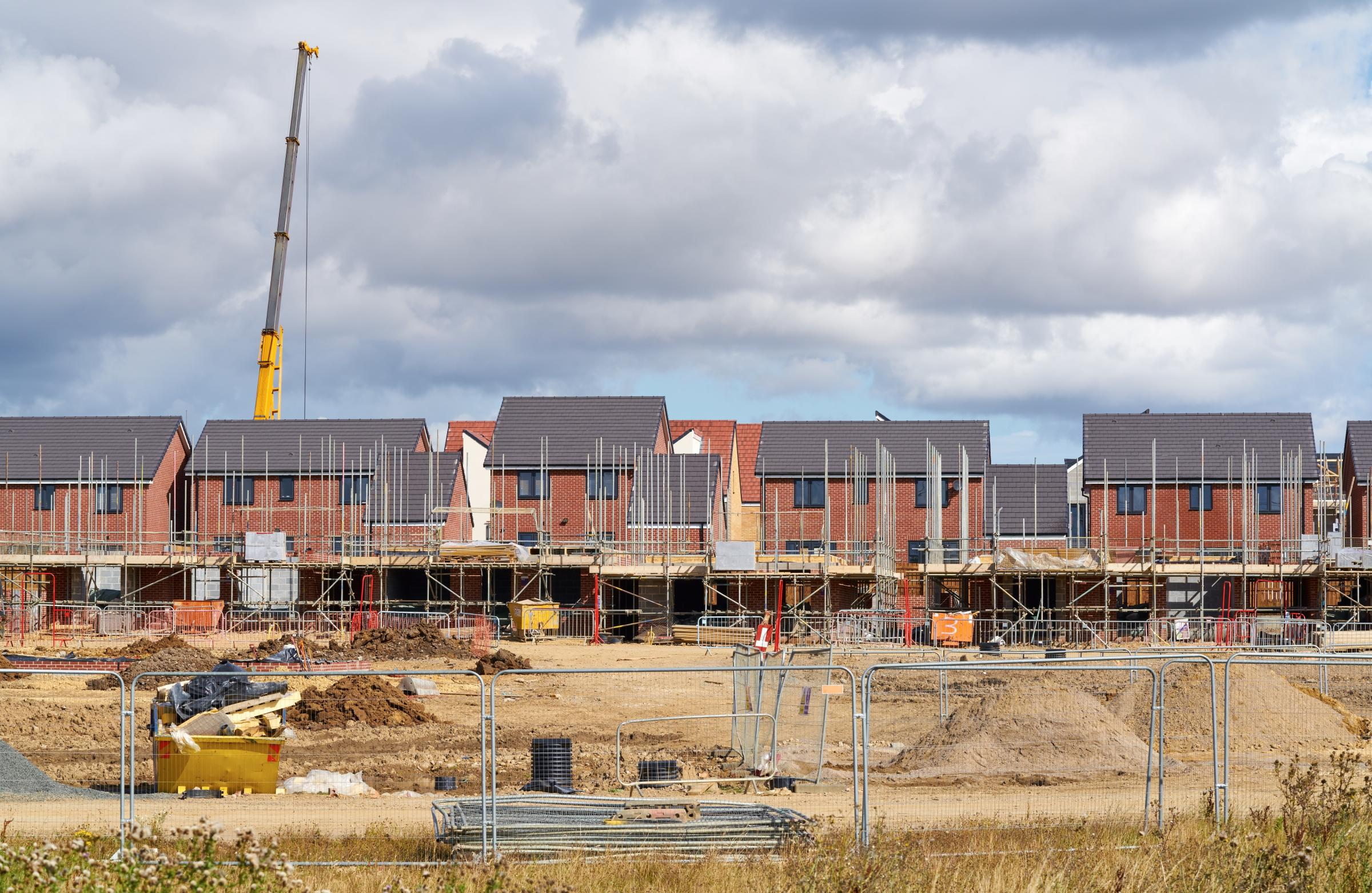 NEW BUILDS: Affordable homes being erected in South Somerset could be set to rise