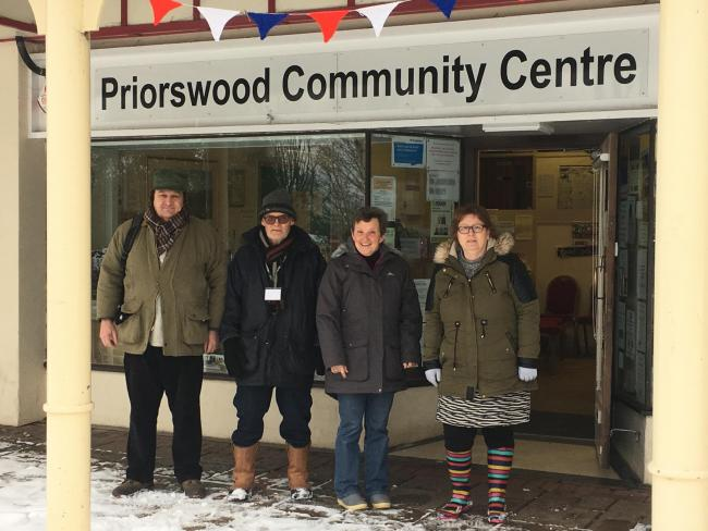 A few snaps of the snow around Priorswood Community Centre and along Eastwick Road today. Staff and volunteers are in this morning and we are open as usual for the community!