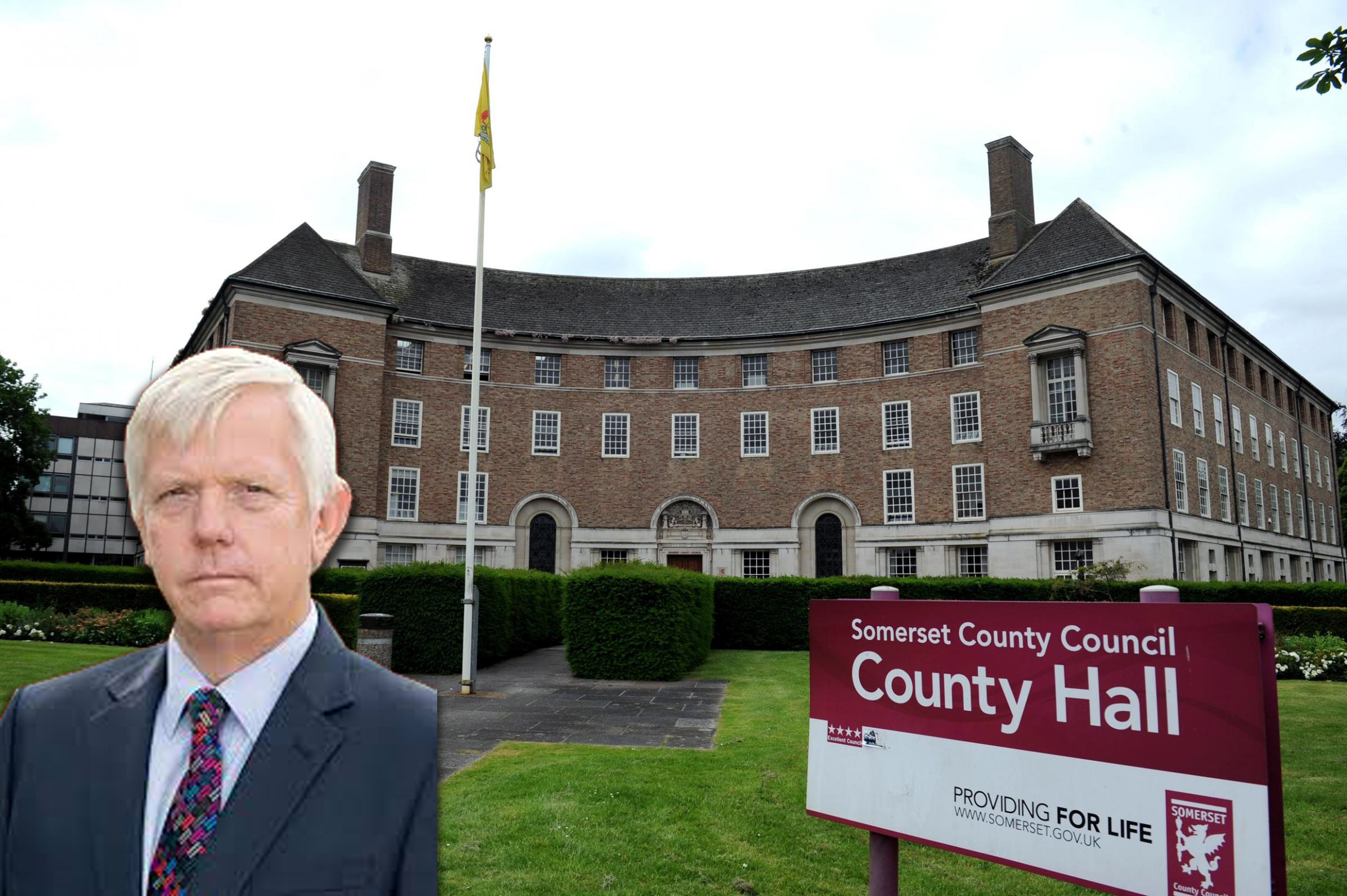 UNDER PRESSURE: Leader David Fothergill says Somerset County Council is under 'enormous pressure'