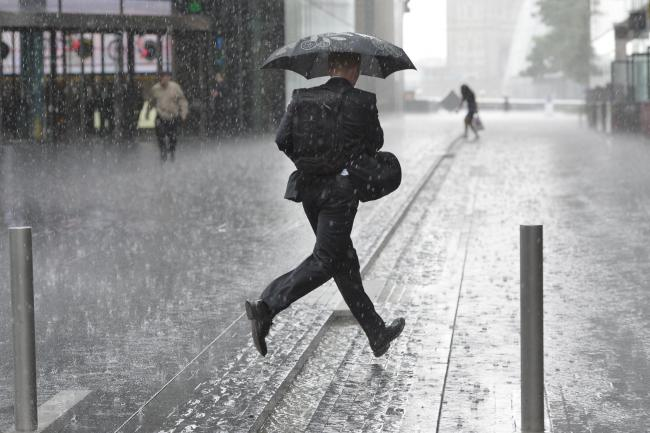 WEATHER WARNING: The Met Office has forecast heavy rain and flooding this afternoon