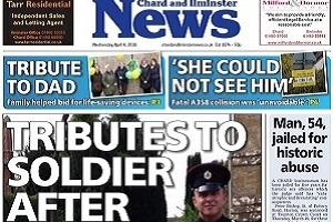 Tributes to soldier after tragedy