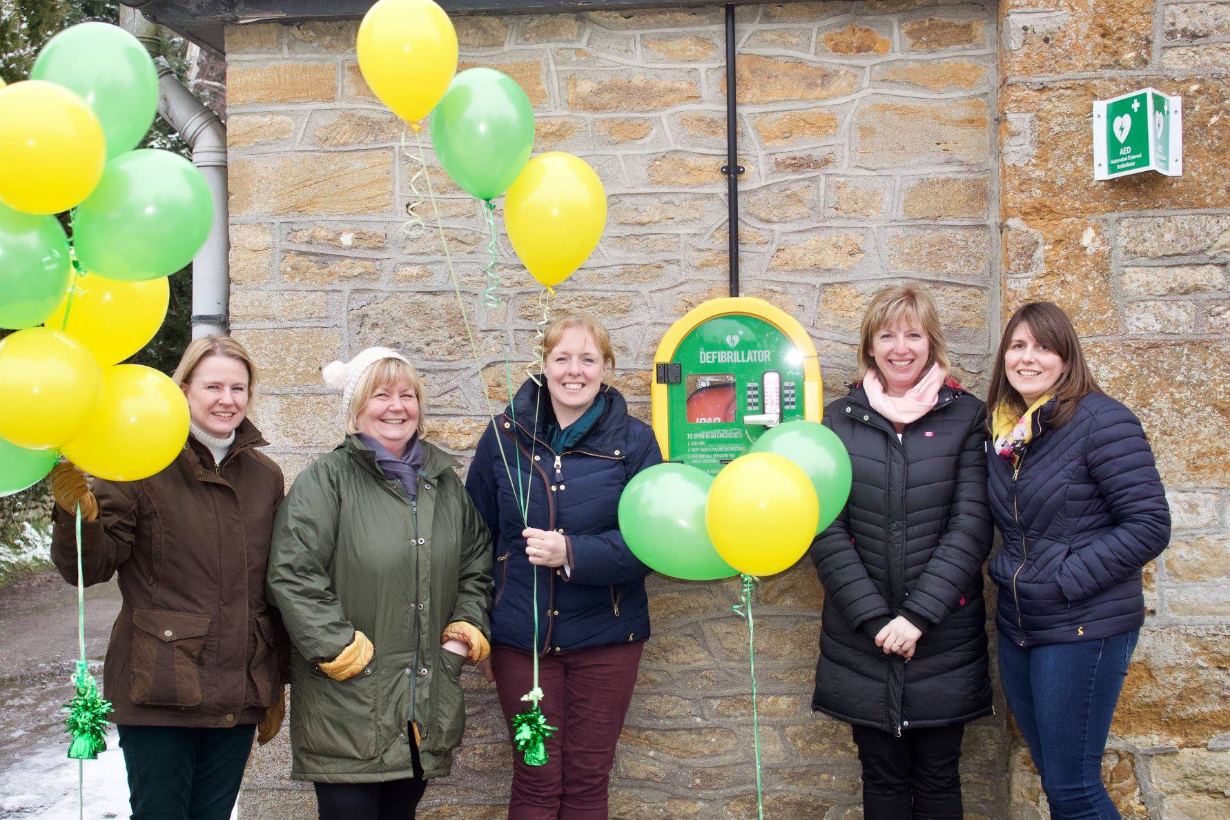 Two new Crewkerne defibrillators inspired by dad's sudden heart attack death