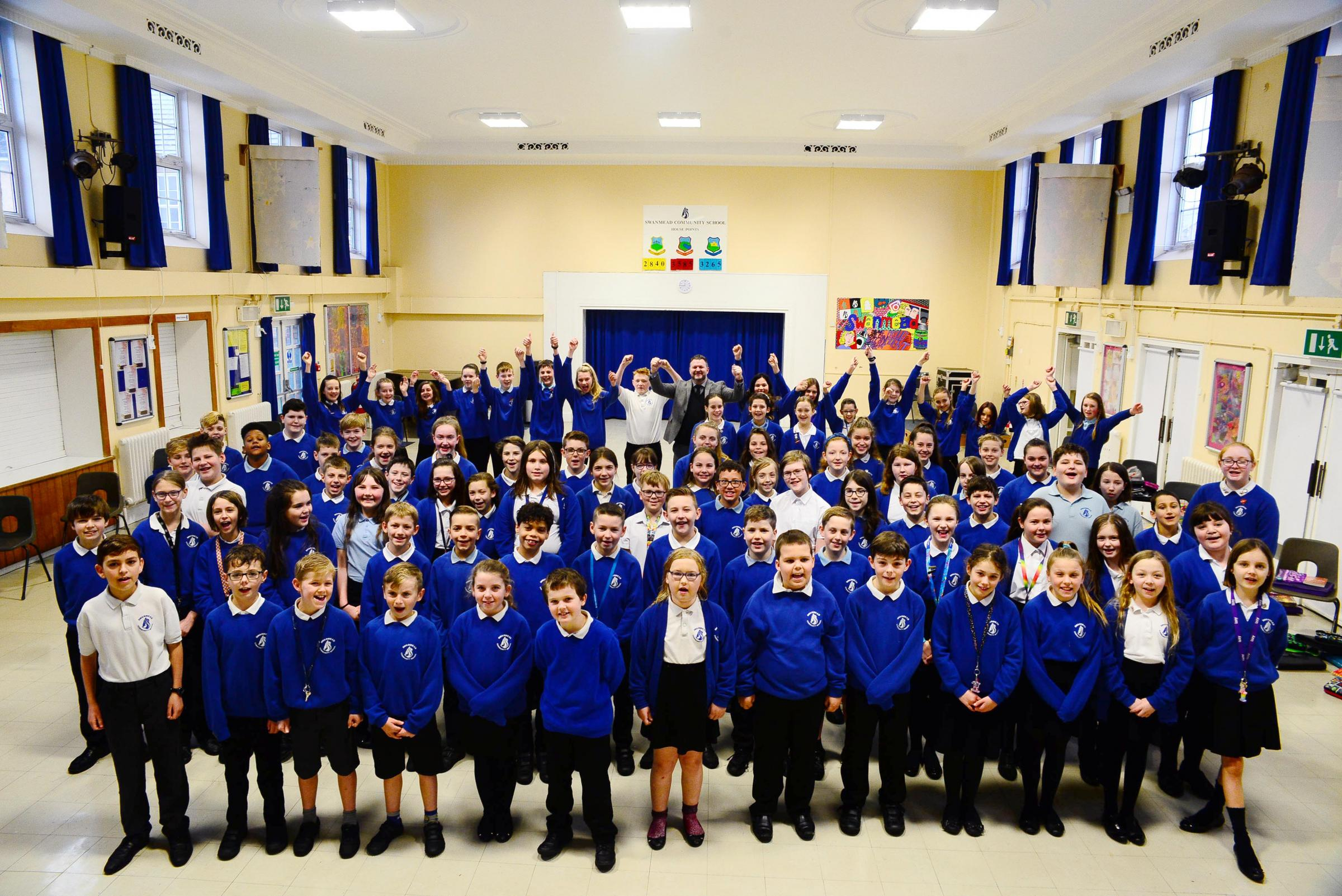 Swanmead School thrilled after being rated 'Good' across the board by Ofsted