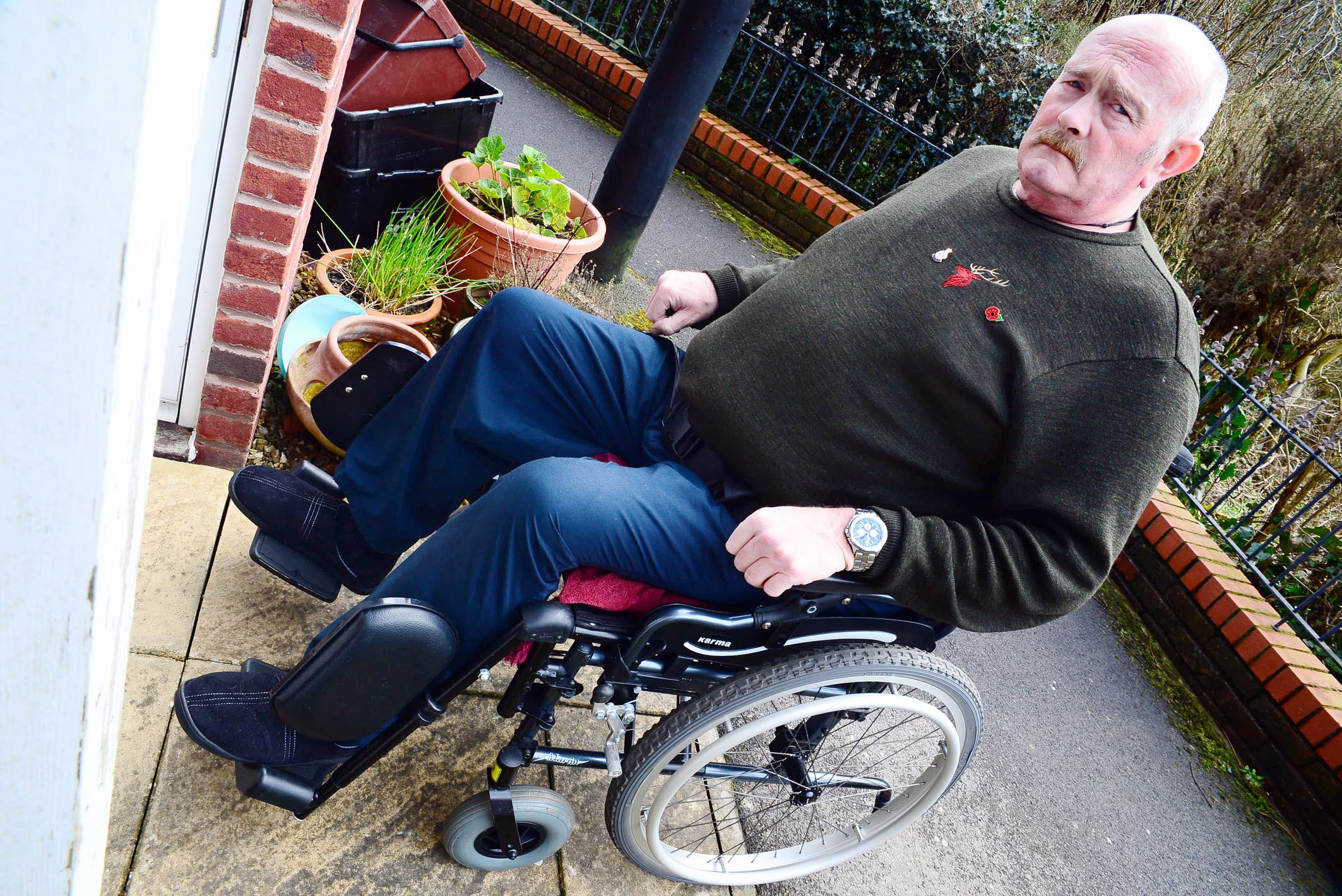 'Clamping firm are pirates' says man fined while recovering from stroke