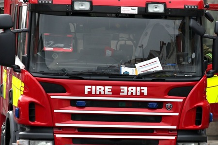 CALL OUT: Firefighters from Chard were called to a fire in Combe St Nicholas