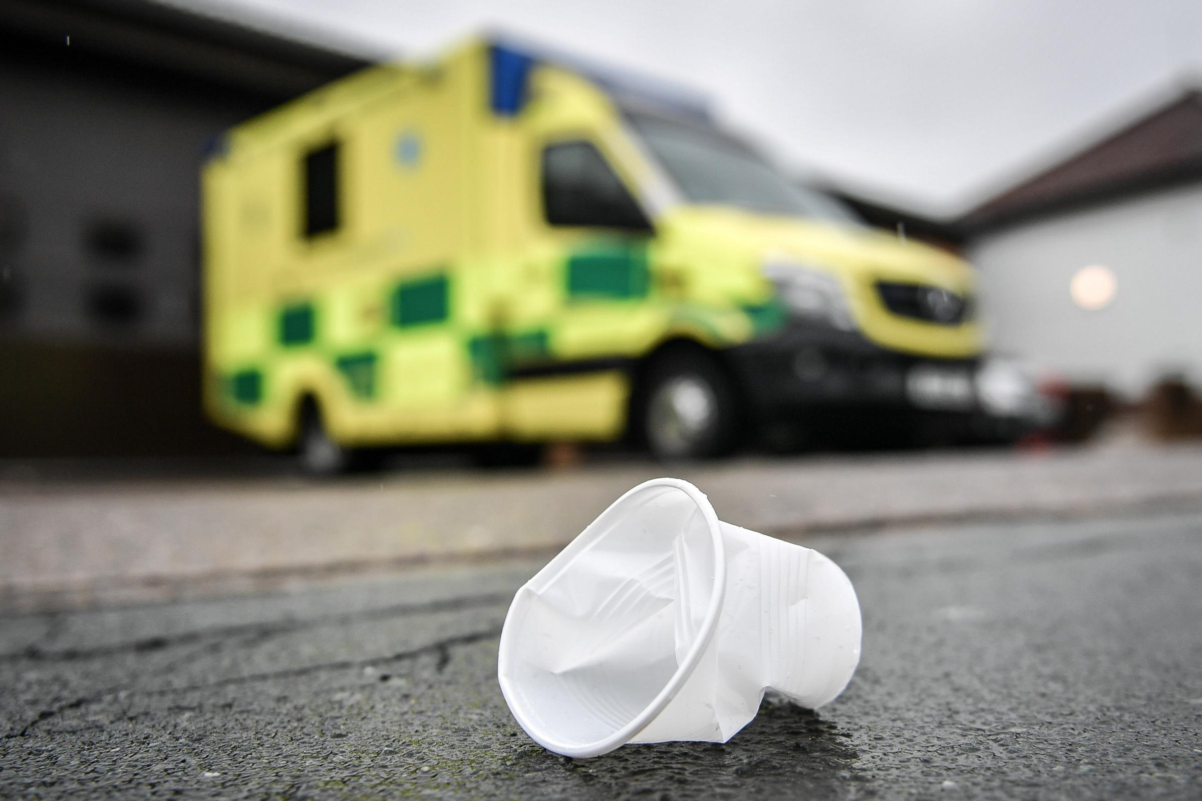 REVEALED: How many disposable cups Somerset hospitals use