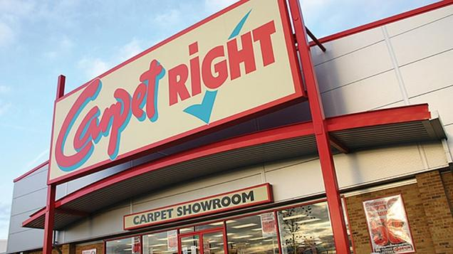 CARPETRIGHT: The chain said that 92 sites had been earmarked for closure, although 11 have already stopped trading