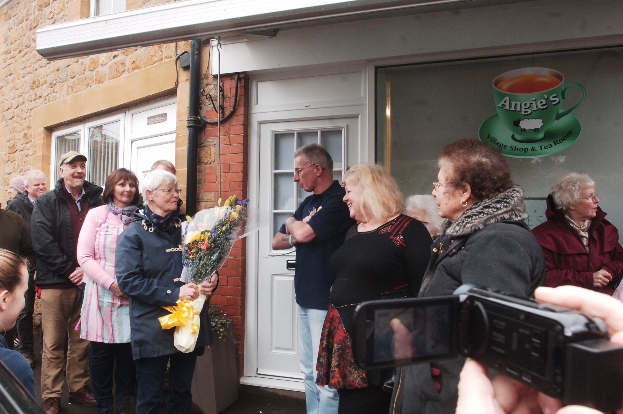 OPEN: The launch of the new community shop and cafe in Shepton Beauchamp