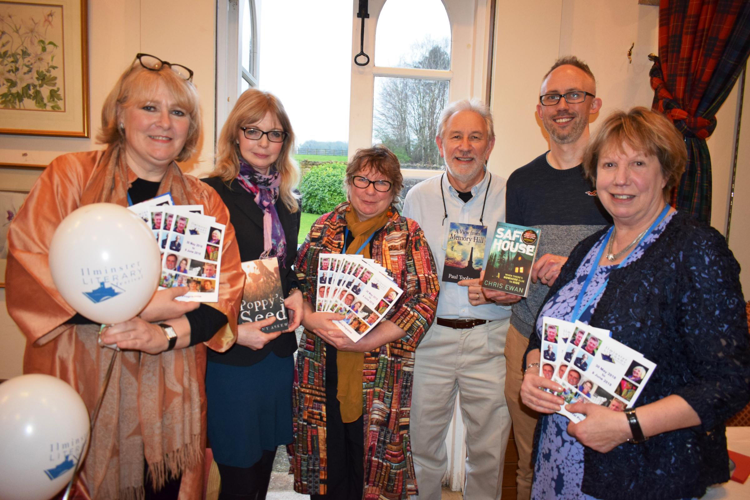 LAUNCH: Ilminster Literary Festival 2018 gets the civic seal of approval