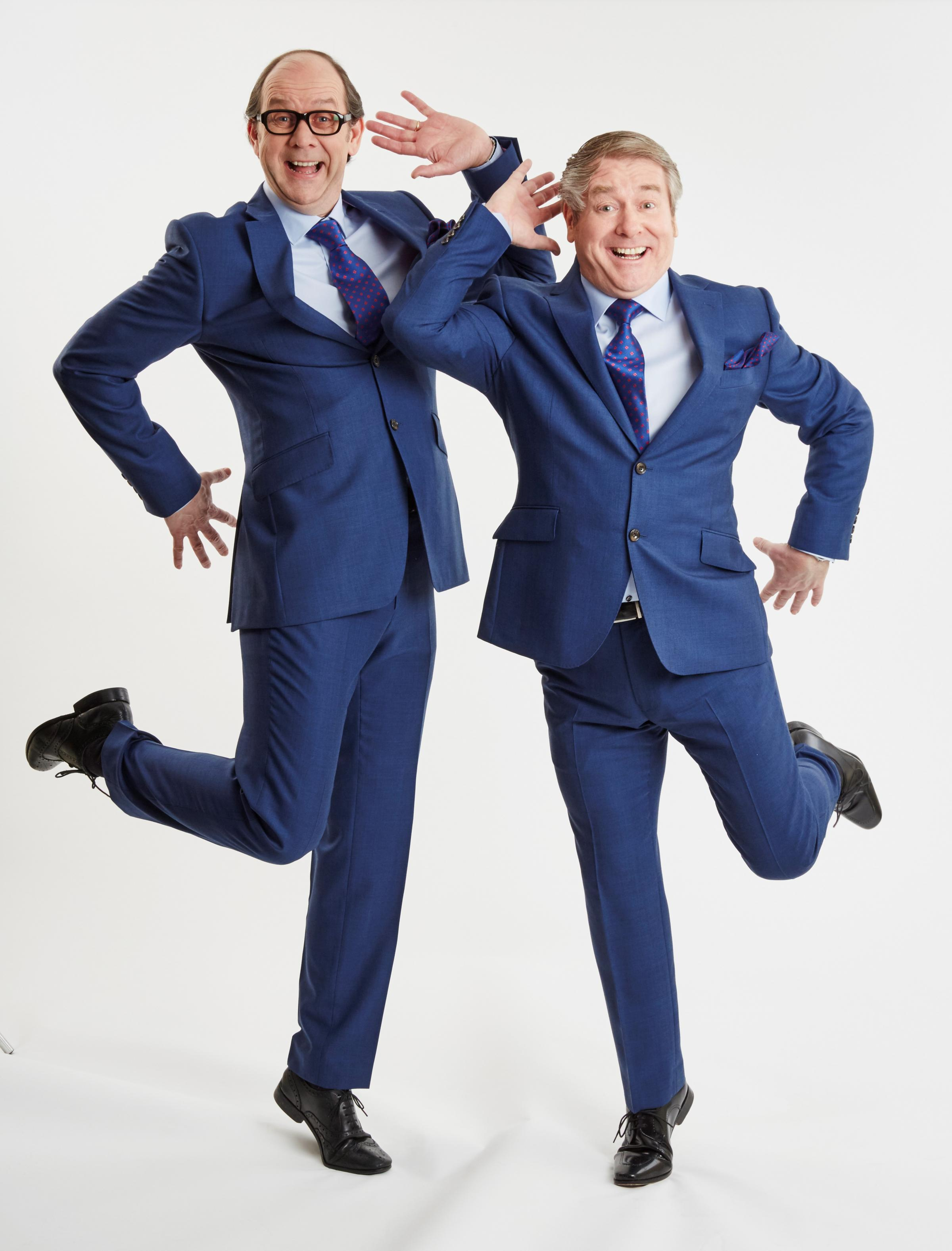 Enjoy and evening with Eric and Ern at the Octagon