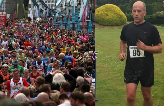 MARATHON MAN: Cllr Carnell is doing the London Marathon for those with life-changing ruby injuries