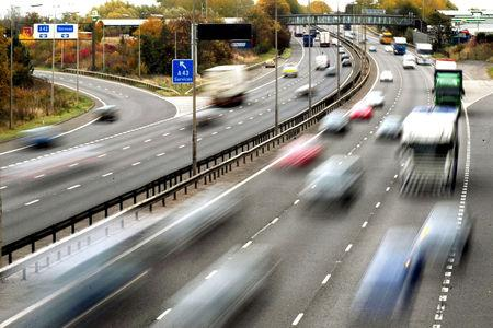 Motorway roadworks speed limits to be raised to 60 mph