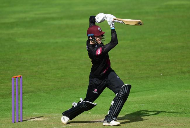ON FIRE: Somerset's Tom Banton. Pic: SCCC