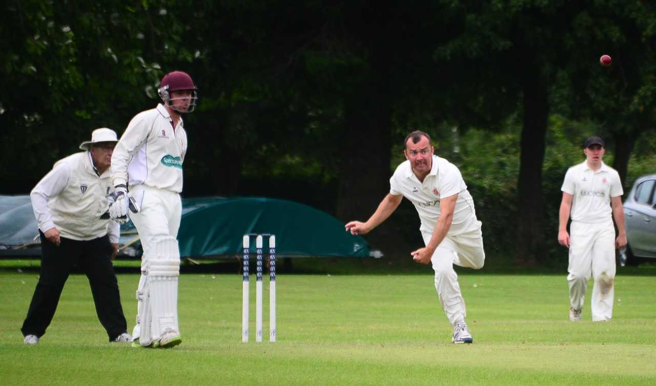 NEW SEASON: Chard Cricket Club's Jon Dalwood bowling. Pic: Steve Richardson