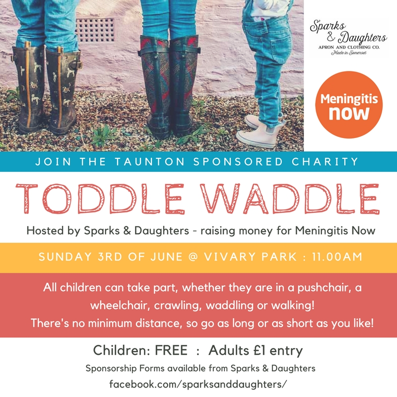Sponsored Toddle Waddle for Meningitis Now