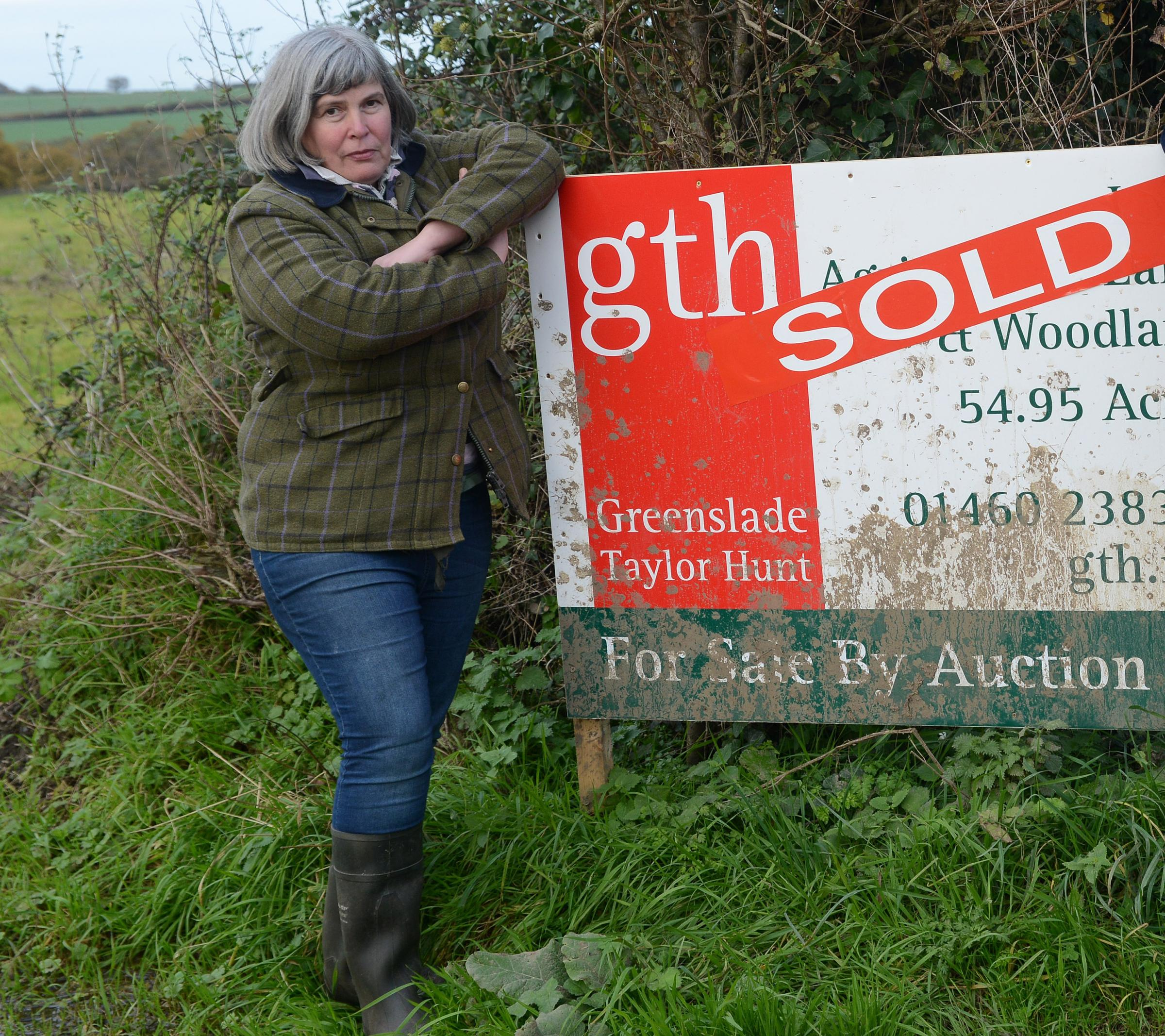 SOLD: Sue Osborne at Oxenford Farm