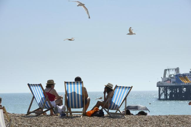WEATHER: The Met Office says the UK is likely to enjoy a warmer than average summer this year