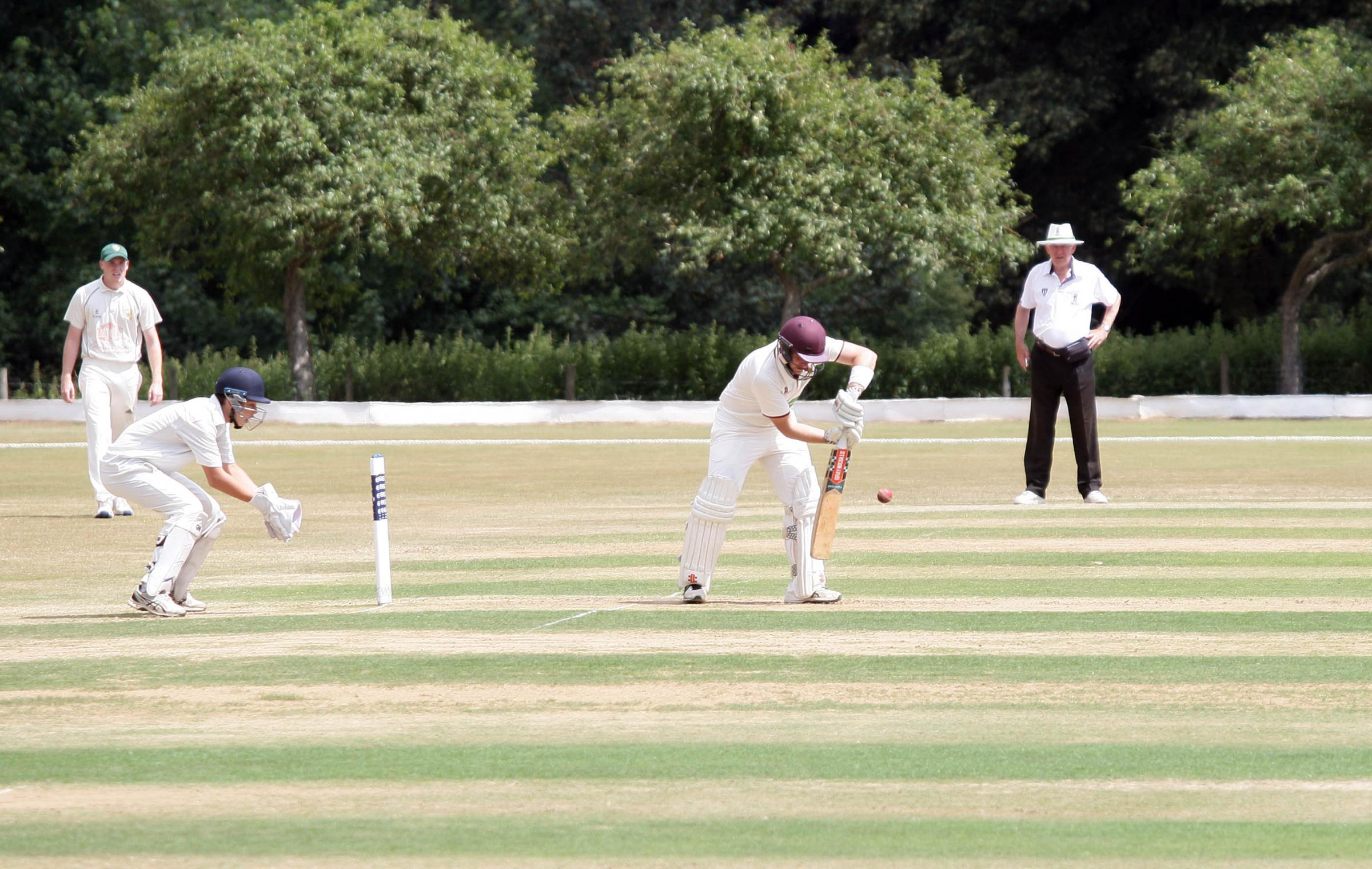 TOP SCORE: Gordon Whorlow hit 69 for North Perrott against Wembdon on Saturday. Pic: Adrian Hopper
