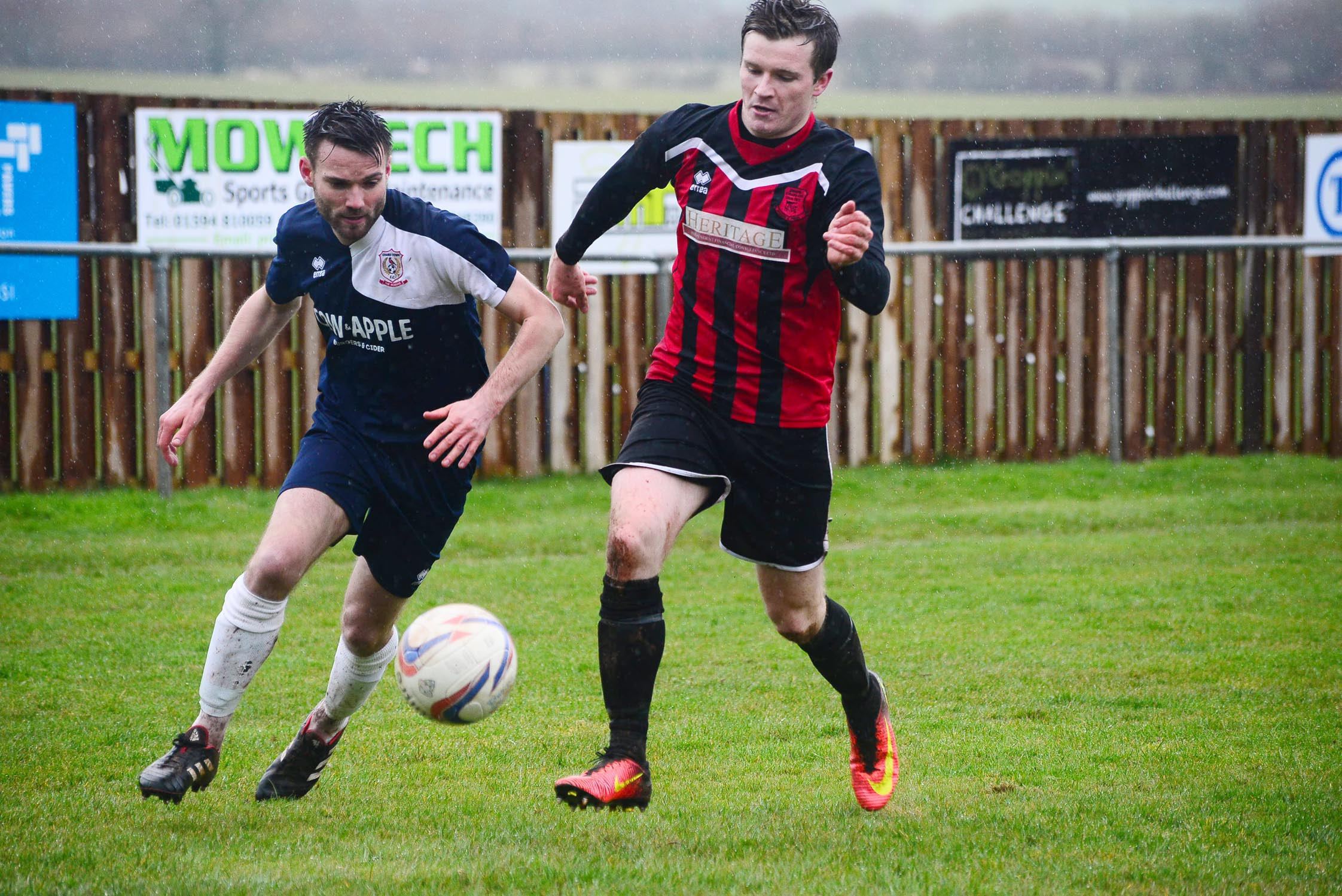 HARD LUCK: Chard were frustrated at Corsham Town on Saturday