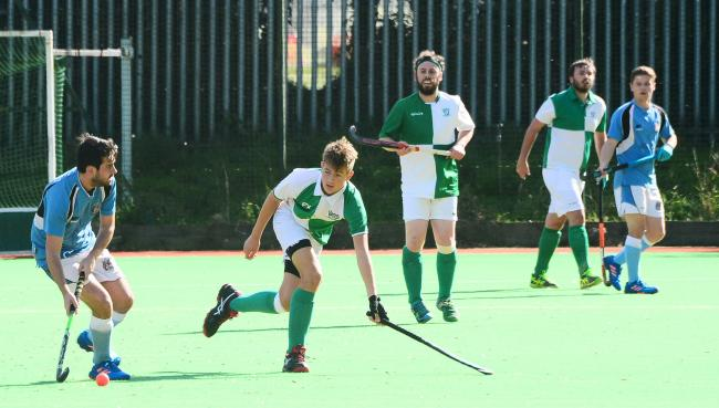 TOUGH TIME: It was a winless Saturday for Chard Hockey Club. Pic: Steve Richardson