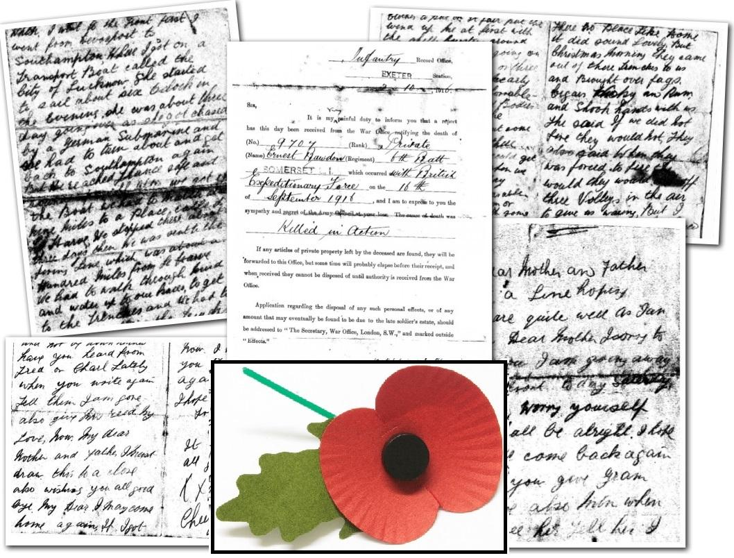 War hero\'s lost letters tell stories of Christmas truce and final ...